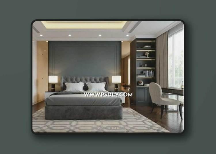 Bedroom 606 3D Model