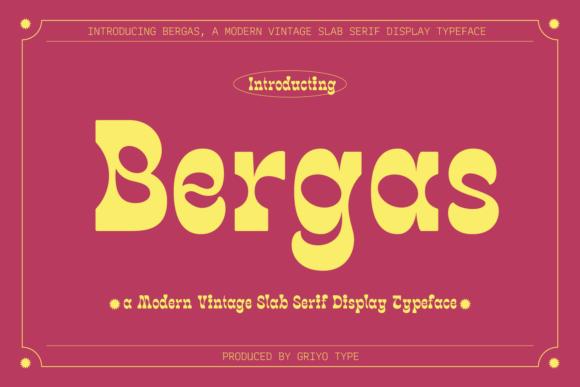 Bergas Font