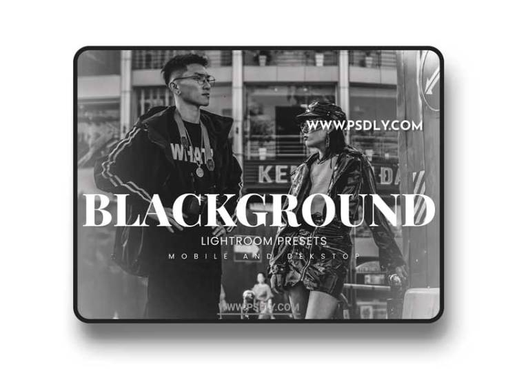 Blackground Lightroom Presets Dekstop and Mobile