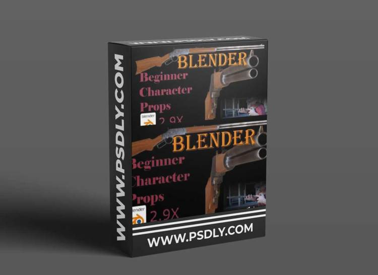 Blender Beginner: Your first Western Style Rifle