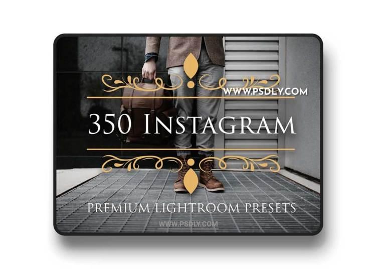 CM - 350 Instagram Lightroom Presets 1982885