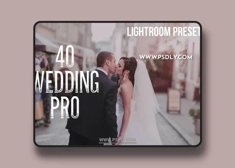 CM - 40 Wedding Pro Lightroom Presets 966448