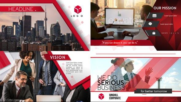 Videohive Corporate Profile Presentation 23719108
