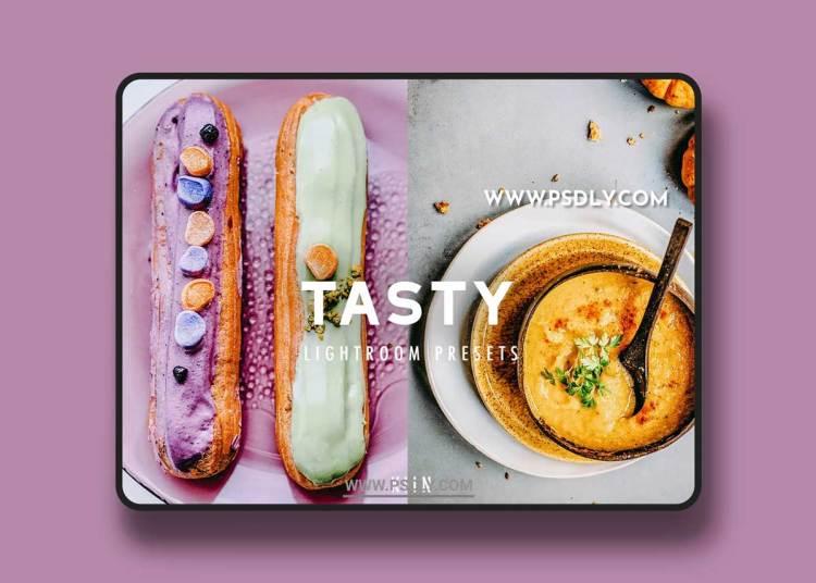CreativeMarket - 10 TASTY FOOD LIGHTROOM PRESETS 6339537