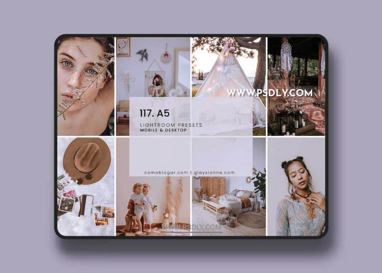 CreativeMarket - 117. A5 Presets 6405323