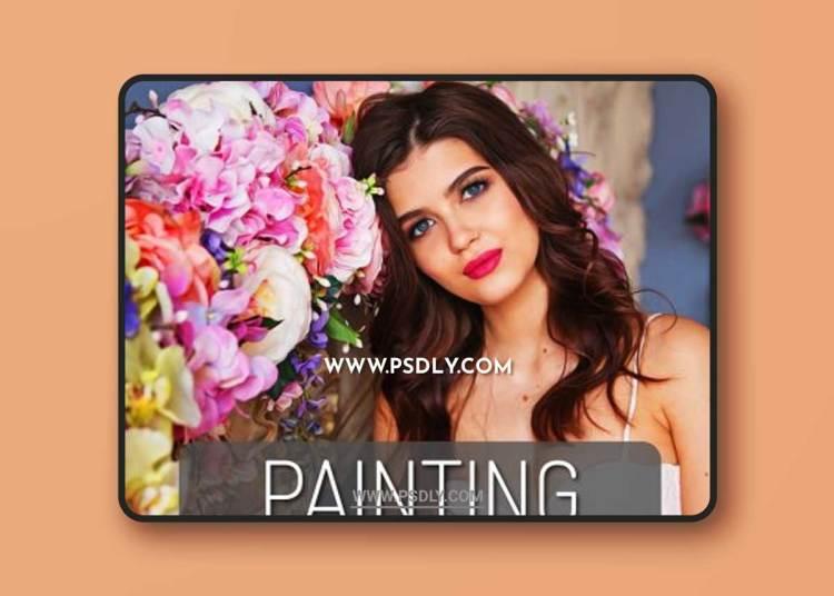 CreativeMarket - Painting Photoshop Action 6137347