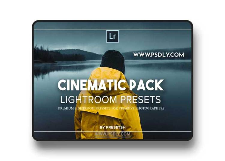 CreativeMarket - Pro Cinematic Lightroom Presets 3203167