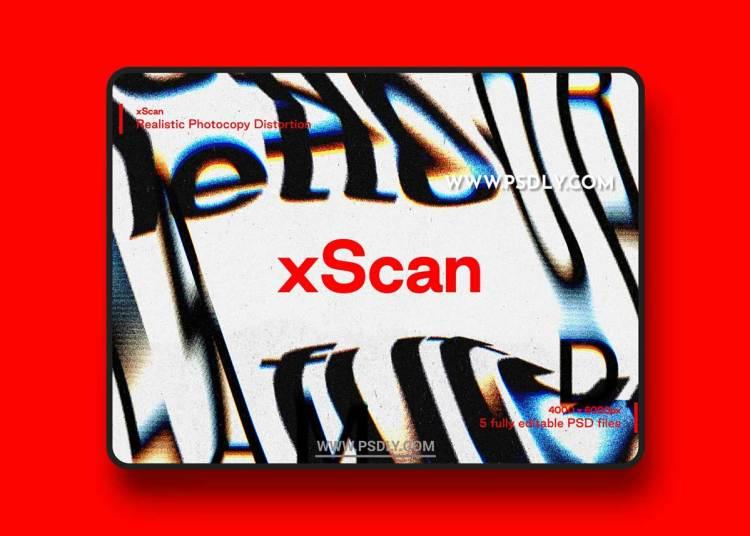 CreativeMarket - xScan - Photocopy Distortion Effect 5199514