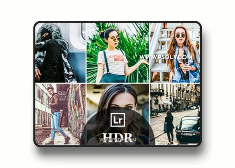 GraphicRiver - 10 HDR Fashion Lightroom Desktop and Mobile Presets 22982586