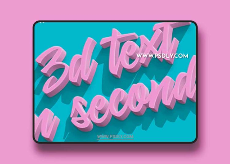 GraphicRiver - 3D Text - PS Action 22064329