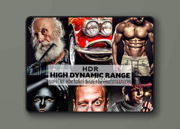 GraphicRiver - HDR Photoshop Pro Action 23152815