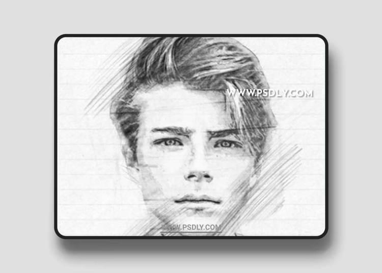 Graphicriver - Pencil Sketch Photoshop Action 22055959