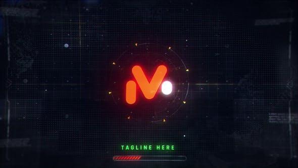 Videohive Digital Logo Reveal 33489164