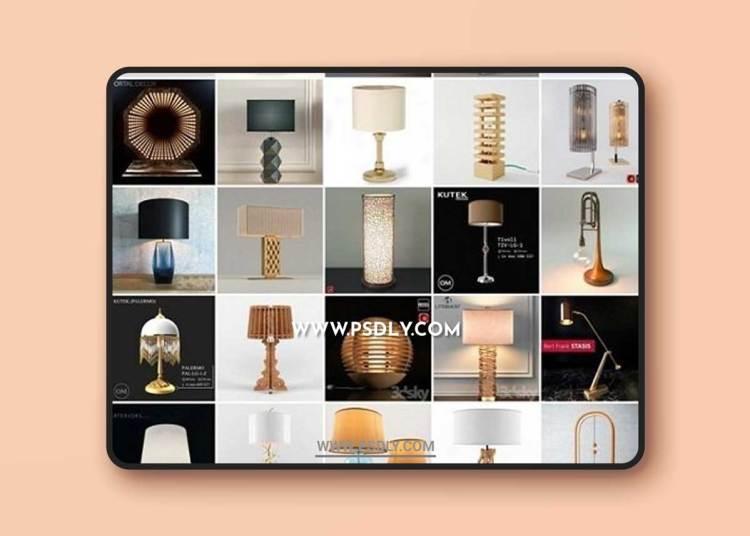Lamps 3d Models for SketchUp