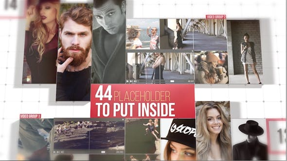 Videohive On The Grid 20848296