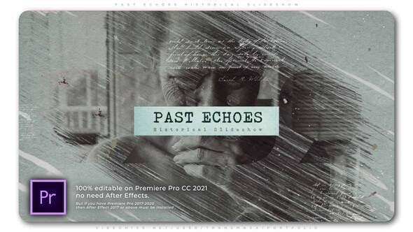 Videohive - Past Echoes Historical Slideshow - 33715176