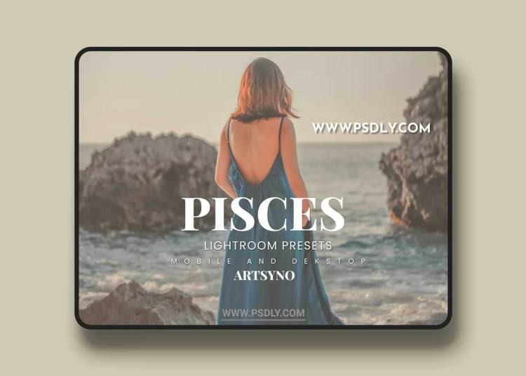 Pisces Lightroom Presets Dekstop and Mobile