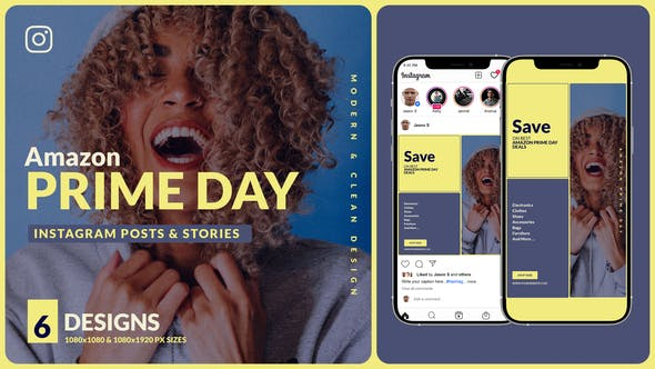 Videohive Amazon Prime Day Instagram Promo B123 33692775