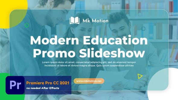 Videohive - Modern Education Slideshow (MOGRT) - 33713085
