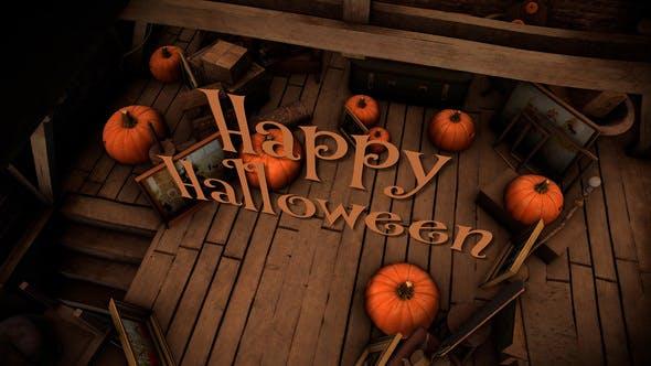 Videohive Happy Halloween Slideshow 33812247