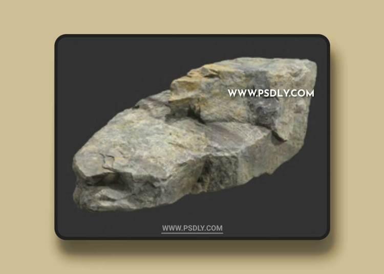 Rock Boulder Large 15