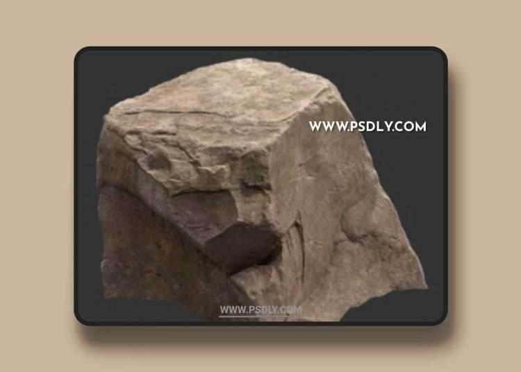 Rock Boulder Large 16