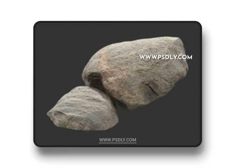 Rock Boulder Large 19