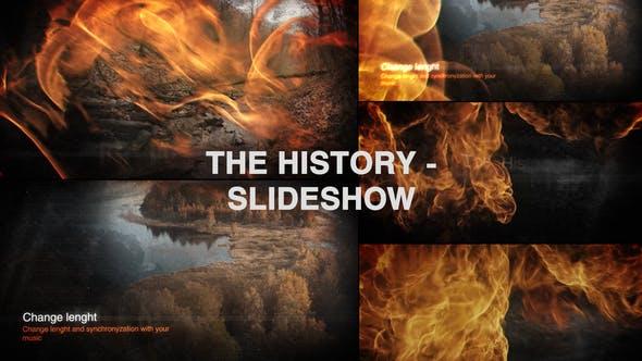 Videohive The History - Slideshow 33903582