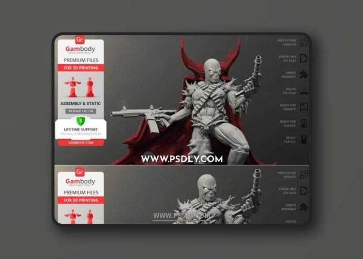 Spawn – 3D Print Model 3D Models