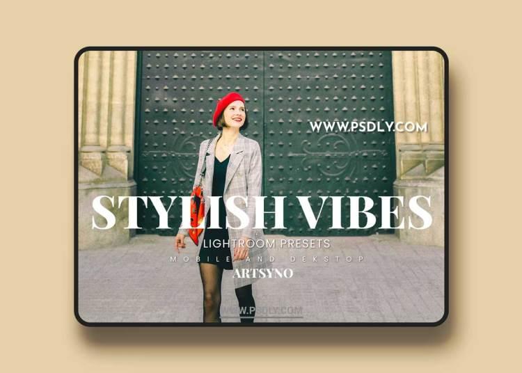 Stylish Vibes Lightroom Presets Dekstop and Mobile