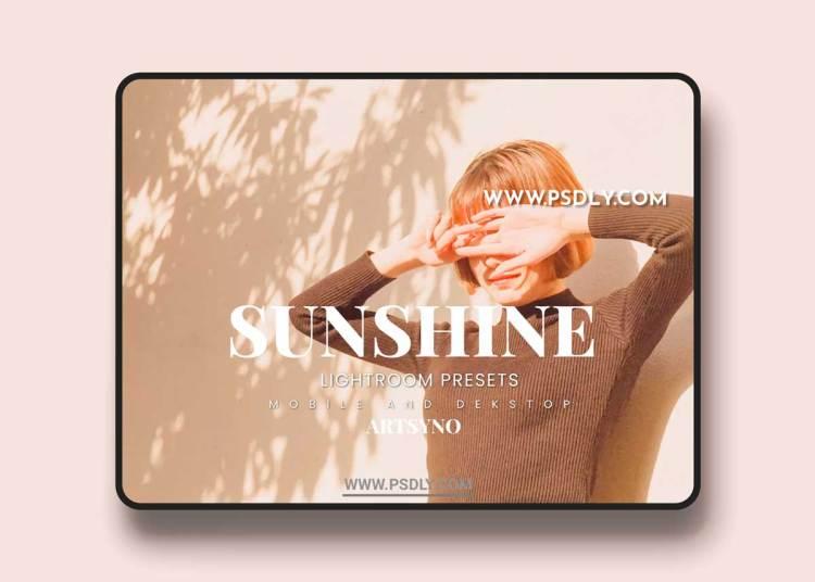 Sunshine Lightroom Presets Dekstop and Mobile