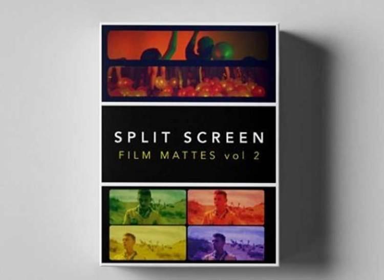 Tropic Colour - SPLIT SCREEN FILM MATTES Vol. 2