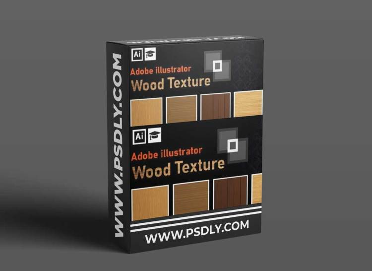 Vector Illustration: How to Create A Wood Texture in Adobe Illustrator - Step by Step