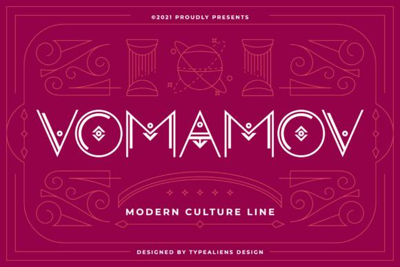 Vomamov Font