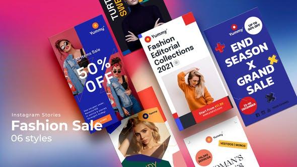 Videohive Fashion Sale Instagram Stories 33701556