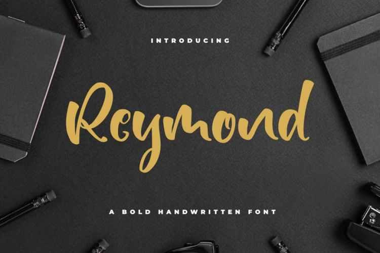 Reymond - Bold Font