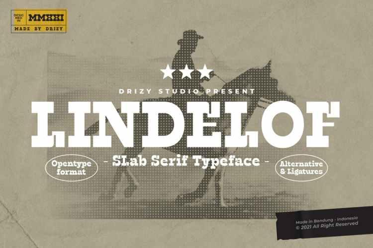 Lindelof Fonts