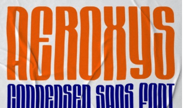 Aeroxys Condensed Display Sans Font