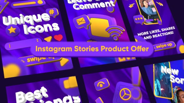 Videohive Instagram Stories Product Offer 34147924