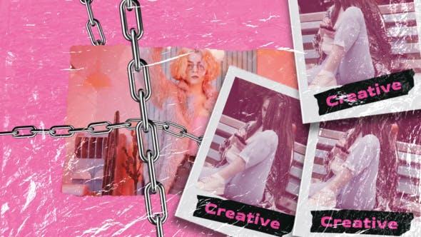 Videohive Pink Promo 34094890