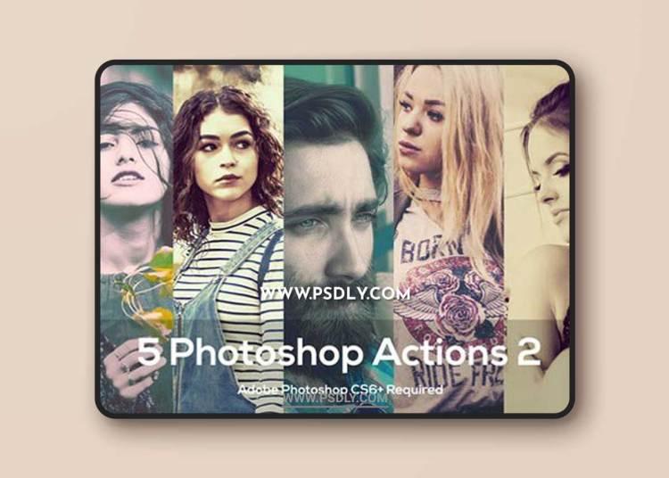 5 Photoshop Actions 2