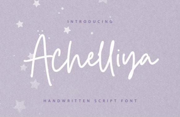 Achelliya Font