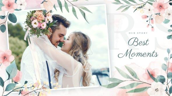 Videohive Romantic Love Story Slideshow 34131260