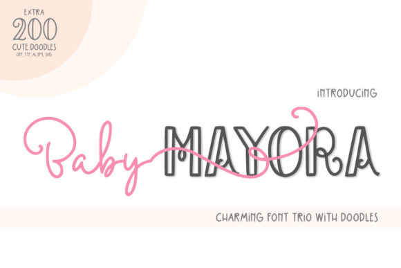 Baby Mayora Font