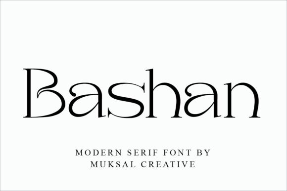Bashan Font