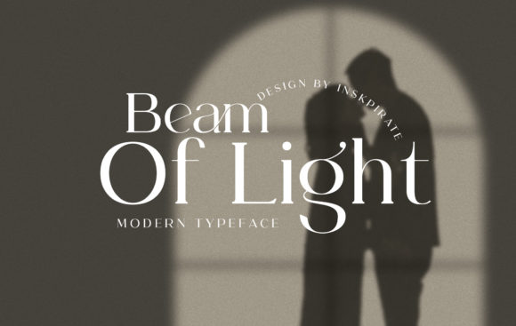Beam of Light Font