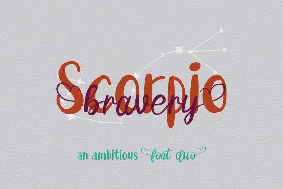 Bravery Scorpio Duo Font