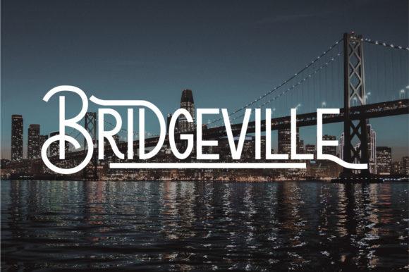Bridgeville Font