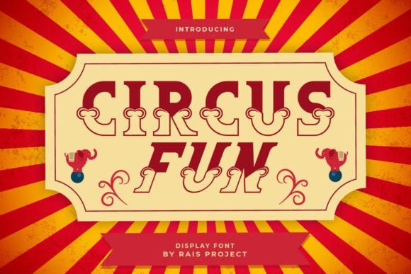 Circus Fun Font