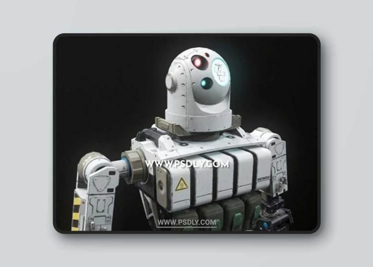 Combat Robot 3D Models